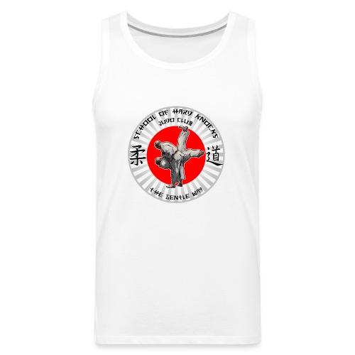 Judo Shirt Judo Accessories School of Hards Knocks - Men's Premium Tank