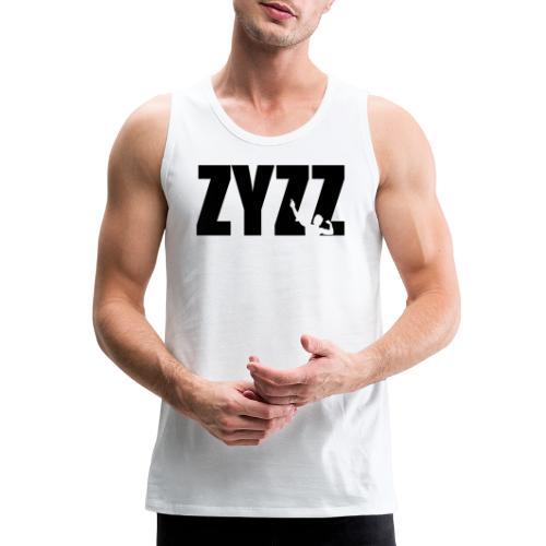 Zyzz text - Men's Premium Tank