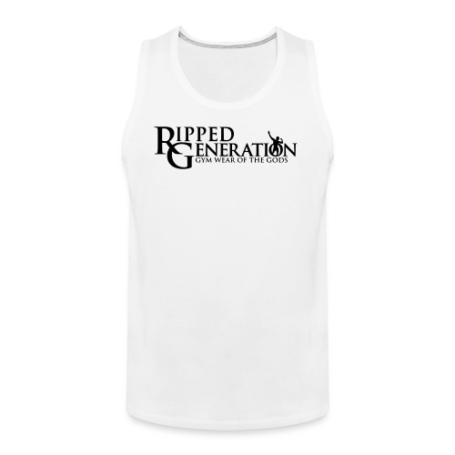 Ripped Generation Gym Wear of the Gods Logo - Men's Premium Tank