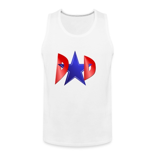 Blue Star Dad - Men's Premium Tank