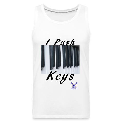 Push keys T - Men's Premium Tank