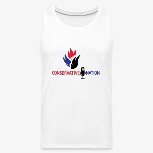 Conservative Nation Double Eagle Collaboration - Men's Premium Tank