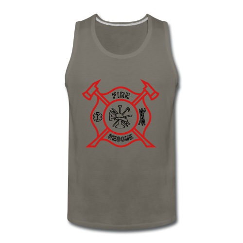 Fire Rescue - Men's Premium Tank