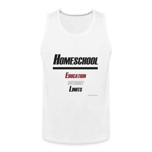 Homeschool Without Limits - Men's Premium Tank