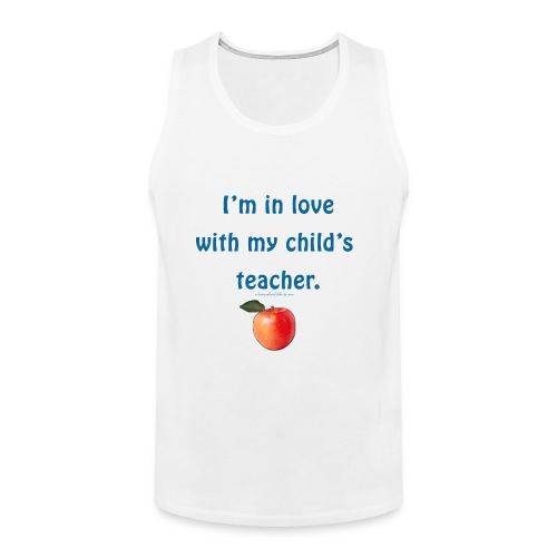 Homeschool Teacher - Dad - Men's Premium Tank
