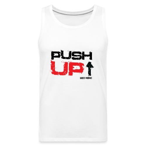 push upb png - Men's Premium Tank