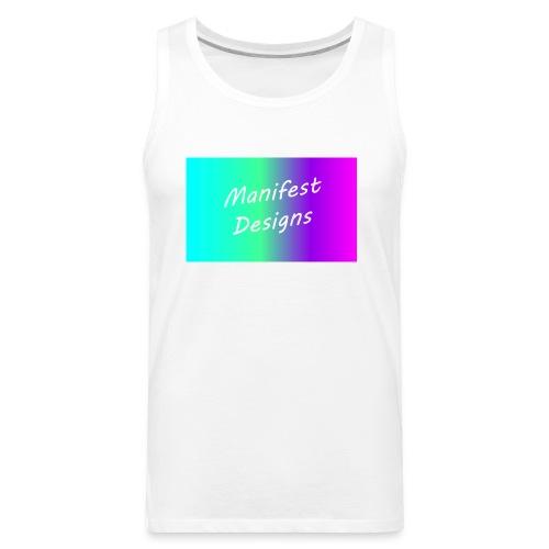 Manifest Rainbow Stripe V.2 - Men's Premium Tank