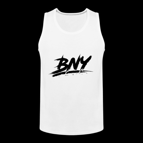 BLACK LOGO - Men's Premium Tank