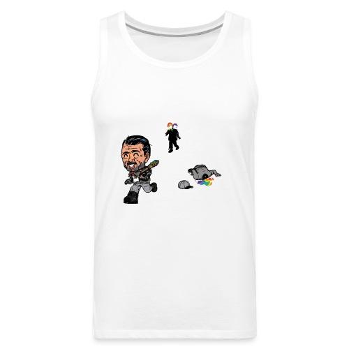Negan Spreading Rainbow - Men's Premium Tank