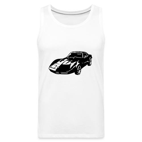 auto_80s_chevrolet_corvette_1c - Men's Premium Tank