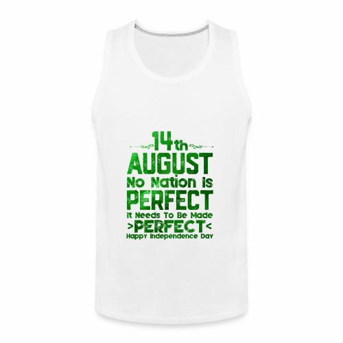 14th August Independence Day - Men's Premium Tank