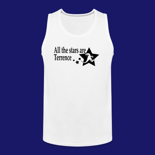 All the Stars Are Terrence - Men's Premium Tank