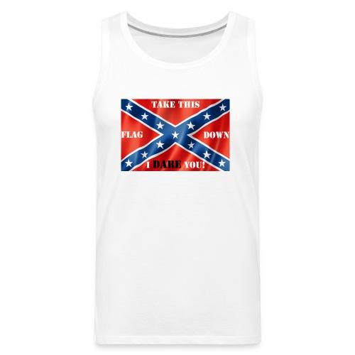 Confederate flag2 - Men's Premium Tank