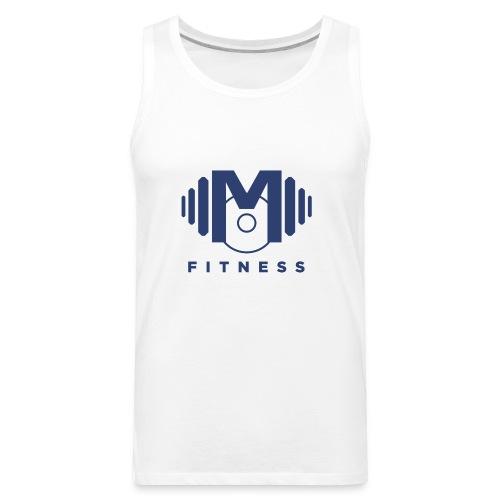 Mo Fitness - Blue - Men's Premium Tank