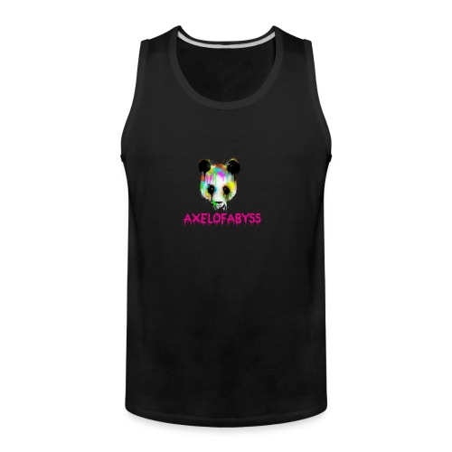 Axelofabyss panda panda paint - Men's Premium Tank