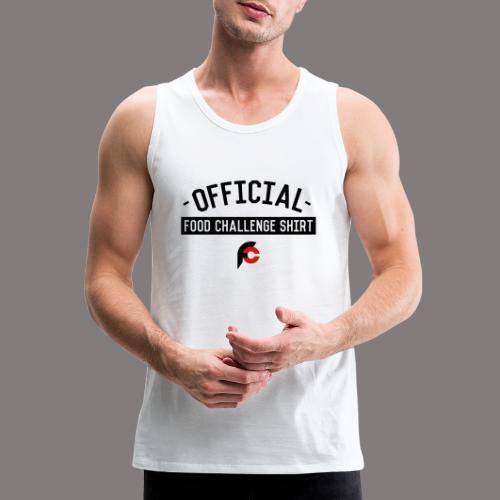 Official Food Challenge Shirt 2 - Men's Premium Tank