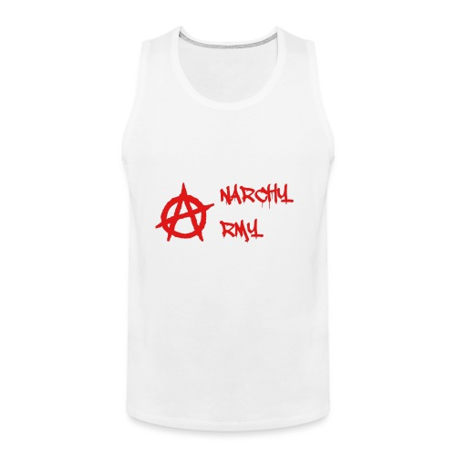 Anarchy Army LOGO - Men's Premium Tank