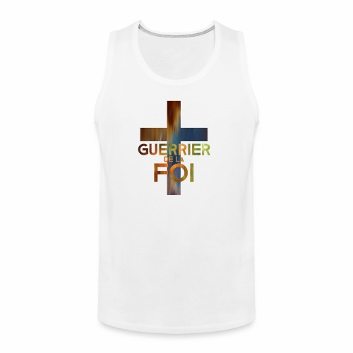 WARRIOR OF FAITH - Men's Premium Tank