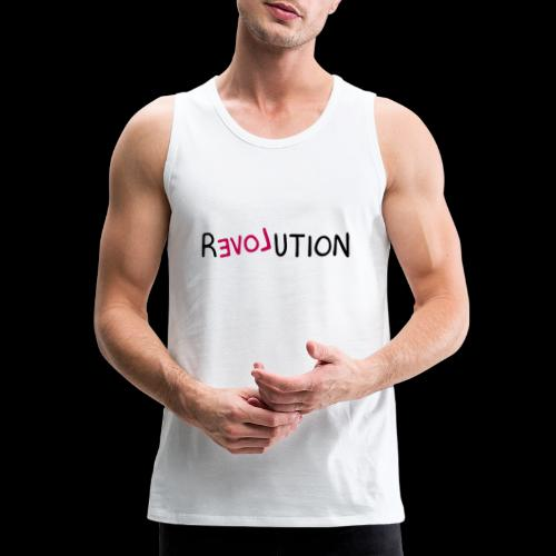 re-LOVE-ution - Men's Premium Tank