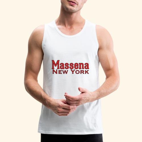 Massena New York - Men's Premium Tank