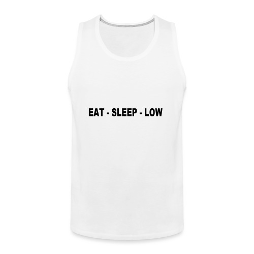 Eat. Sleep. Low - Men's Premium Tank