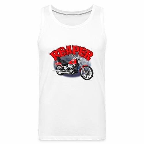 Motorcycle Reaper - Men's Premium Tank
