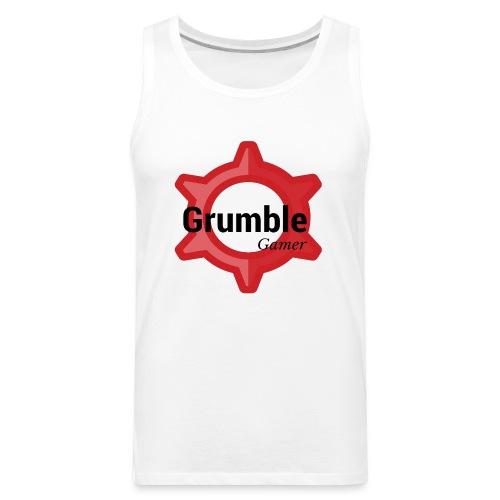 GrumbleGamer18 logo - Men's Premium Tank