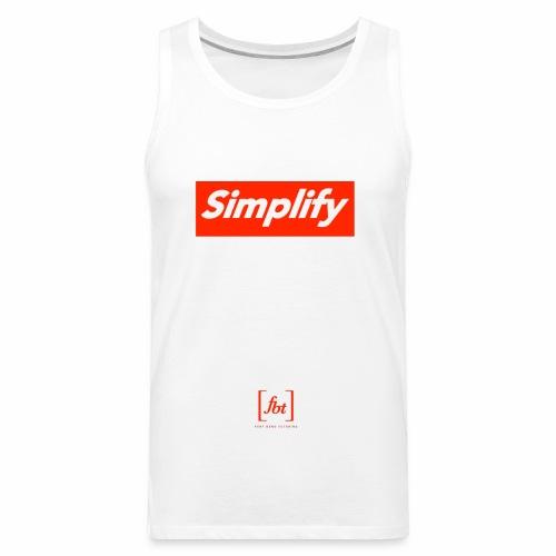 Simplify [fbt] - Men's Premium Tank