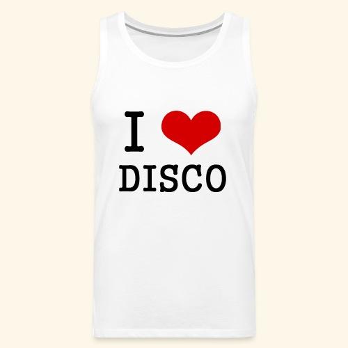 I love disco - Men's Premium Tank