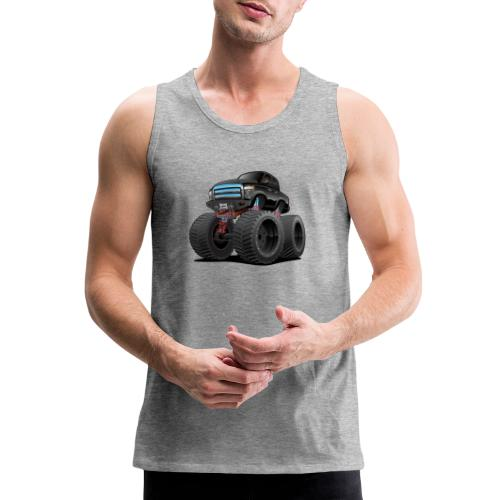 Monster Pickup Truck Cartoon - Men's Premium Tank