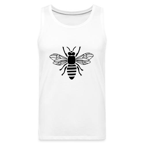 bee i love honey bumble bee honeycomb beekeeper wa - Men's Premium Tank