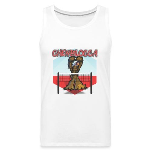 Chewblocca Volleyball Team Logo - Men's Premium Tank