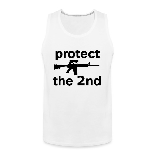 PROTECT THE 2ND - Men's Premium Tank