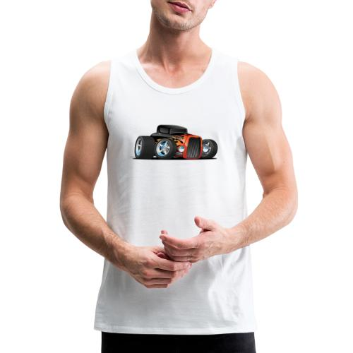 Hot Rod Classic Coupe Custom Car Cartoon - Men's Premium Tank