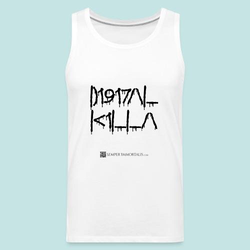 Digital Killa (black) - Men's Premium Tank