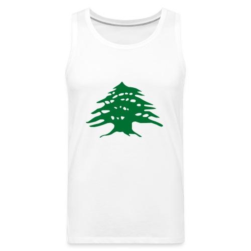 Lebanese Pride Shirt - Men's Premium Tank