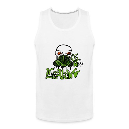 Leaking Gas Mask - Men's Premium Tank
