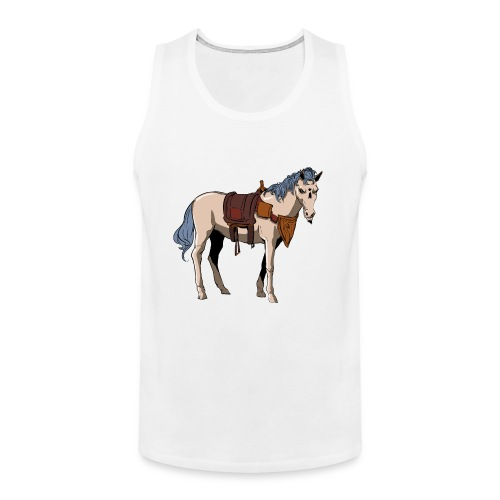 Useless the Horse png - Men's Premium Tank