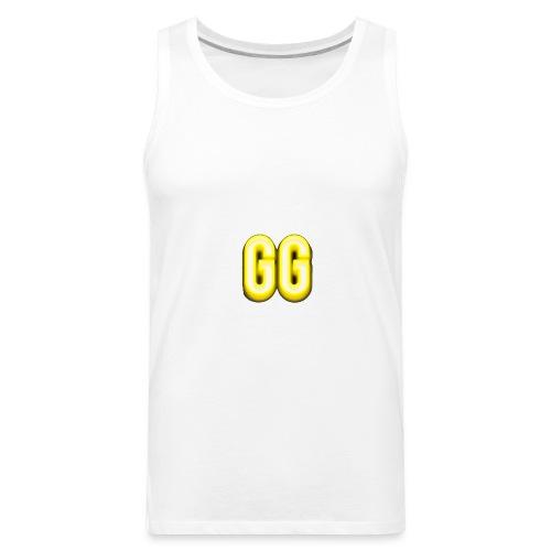 gg golden gamer logo - Men's Premium Tank