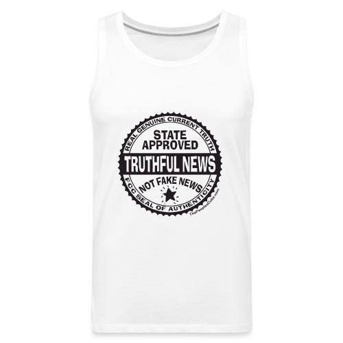Truthful News FCC Seal - Men's Premium Tank
