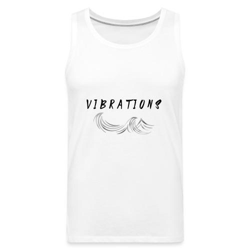 Vibrations Abstract Design - Men's Premium Tank