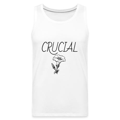 Crucial Abstract Design - Men's Premium Tank