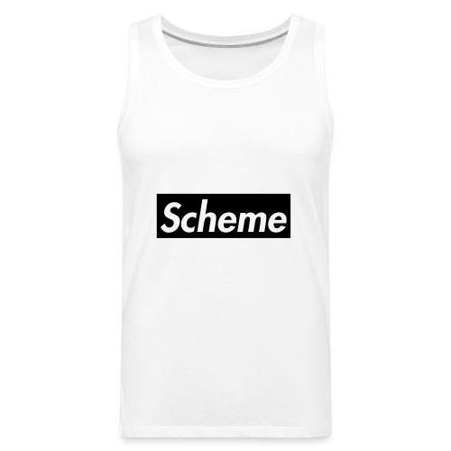 Supreme Scheme black - Men's Premium Tank