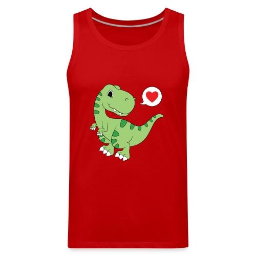 Dinosaur Love - Men's Premium Tank