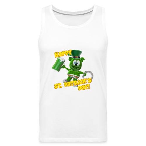 Gummibär (The Gummy Bear) Saint Patrick's Day - Men's Premium Tank