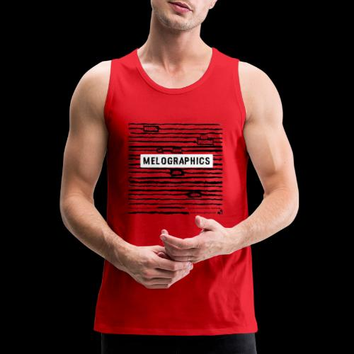 MELOGRAPHICS | Blackout Poem - Men's Premium Tank