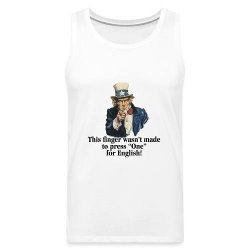Uncle Sam - Finger - Men's Premium Tank