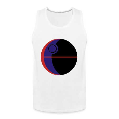 This Is Not A Moon - Men's Premium Tank