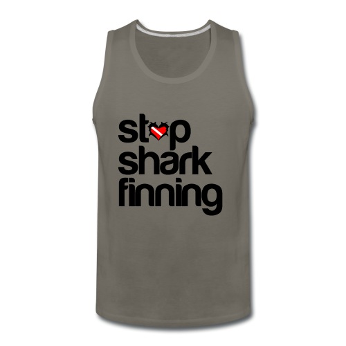 Stop Shark Finning - Men's Premium Tank