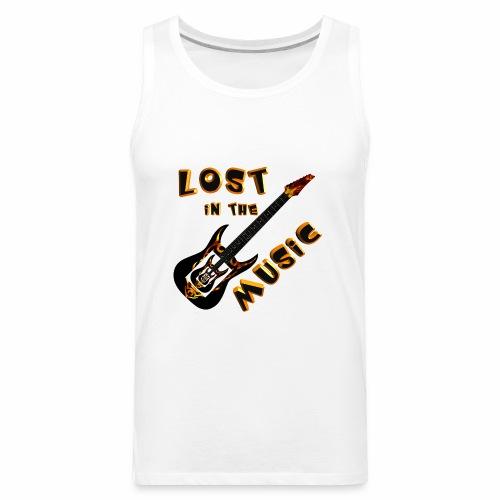 Lost in the Music - Men's Premium Tank
